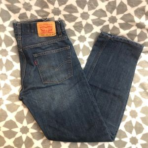 Boys Levi's jeans 514 sz 16 28x28